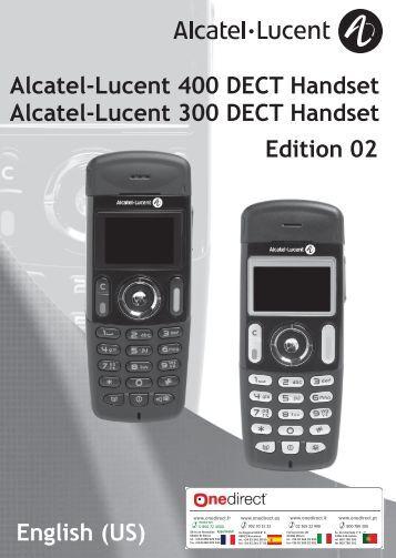 Alcatel lucent 9 series manual