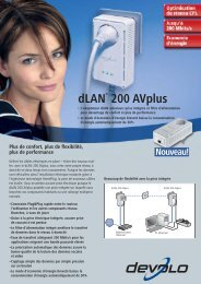dLAN® 200 AVplus - Onedirect