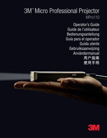 Manuel d'utilisation - Onedirect