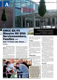 KMCC BX/PX Massive Hit With Servicemembers, Families —