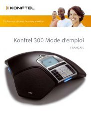 Konftel 300 Mode d'emploi - Onedirect