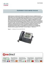 TÉLÉPHONE IP CISCO UNIFIED 7941G-GE - Onedirect