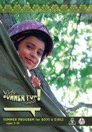Summer Brochure - Oneida Nation Arts Program