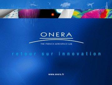 Systèmes de drones - Onera