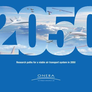 Research paths for a viable air transport system in 2050 - Onera