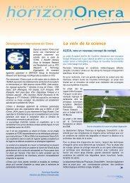 N° 21 - Juin 2009 - Onera