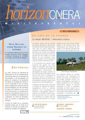 N° 5 - Juin 2003 - Onera