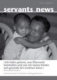 Â«Ich habe gelernt, was Elternsein beinhaltet und wie ich ... - Onesimo