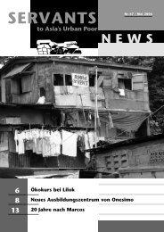Newsletter Mai 2006 - Onesimo