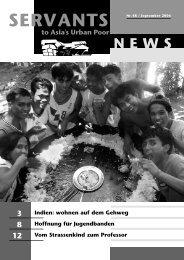 Newsletter August 2008 - Onesimo