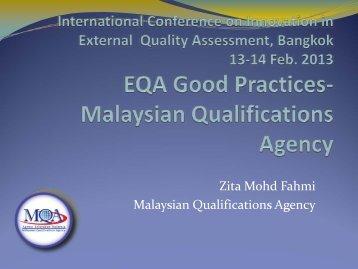 Prof. Zita Mohd Fahmi