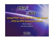 PCIe Over Cable For Networking - One Stop Systems, Inc.
