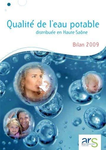 Qualité de l'eau potable - ARS Franche-Comté