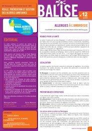 Balise, N°12, juin 2012 - ARS Franche-Comté
