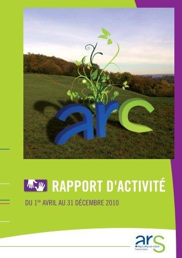 RAPPORT D'ACTIVITÉ - ARS Franche-Comté