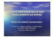 Liste préférentielle - dr Cano - ARS Franche-Comté