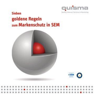 Whitepaper SEM/Markenschutz - ONEtoONE