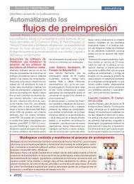 flujos de preimpresión - OneVision