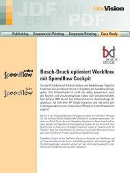 Bosch-Druck optimiert Workflow mit Speedflow Cockpit - OneVision ...