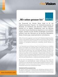 Case Study: Döring, München - OneVision
