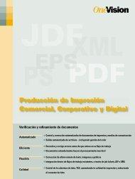 Producción de Impresión Comercial, Corporativo y Digital - OneVision