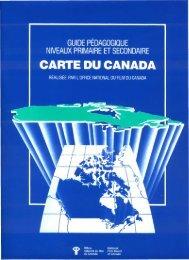 CARTE DU CANADA - National Film Board of Canada