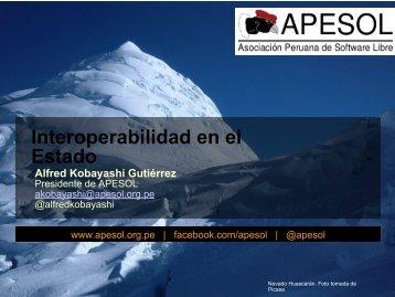 Principios de Interoperabilidad SW Libre - Ongei