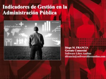Indicadores de Gestión en la Administración Pública - Ongei