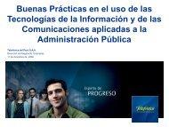 Buenas prácticas usando TIC en la Administración Pública. - Ongei