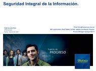 Seguridad integral de la información. - ONGEI