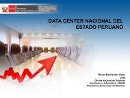 Data Center Nacional del Estado Peruano. - Ongei