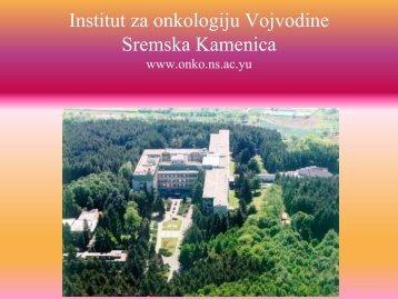 Rak grlića materice u svetu - Institut za onkologiju Vojvodine