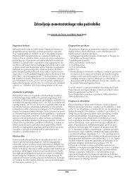 Zdravljenje nemetastatskega raka požiralnika (.pdf, 241 kB)