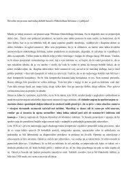 Članek (pdf, 93.23 Kb) - Onkološki inštitut