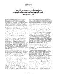 Priporočila za sistemsko zdravljenje bolnikov z napredovalim rakom ...