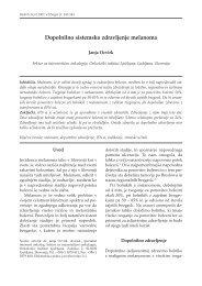 Dopolnilno sistemsko zdravljenje melanoma (.pdf ... - Onkološki inštitut
