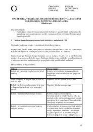 1/2 OPIS PROCESA TRIAŽIRANJA ... - Onkološki inštitut