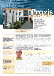 Ausgabe 16 / 2010 - Hämatologisch-onkologische Schwerpunktpraxis