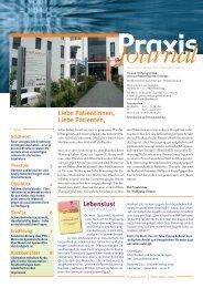 Ausgabe 13 / 2008 - Hämatologisch-onkologische Schwerpunktpraxis