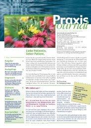 Journal - Hämatologisch-onkologische Schwerpunktpraxis