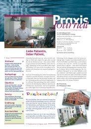 Ausgabe 12 / 2008 - Hämatologisch-onkologische Schwerpunktpraxis