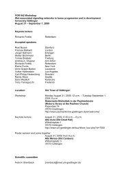 Programm und Informationen zum Wnt Meeting 2009 - Hämatologie ...