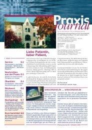 Ausgabe 6 / 2006 - Hämatologisch-Onkologische Schwerpunktpraxis