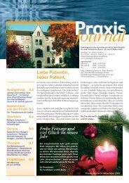 Ausgabe 4 / 2005 - Hämatologisch-Onkologische Schwerpunktpraxis