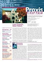 Ausgabe 3 / 2005 - Hämatologisch-Onkologische Schwerpunktpraxis