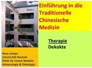 Therapie I (Einzelstoffe) / O. cardialis / Beispiel - Hämatologie und ...