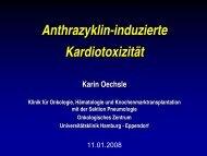Anthrazyklin-induzierte Kardiotoxizität