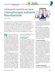 Chemotherapie-indizierte Neurotoxizität