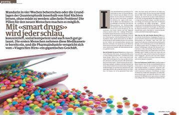 Mit «smart drugs» wird jeder schlau, - Ethik im Diskurs