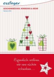 Geschenkbücher, Nonbooks & Mehr - Esslinger Verlag